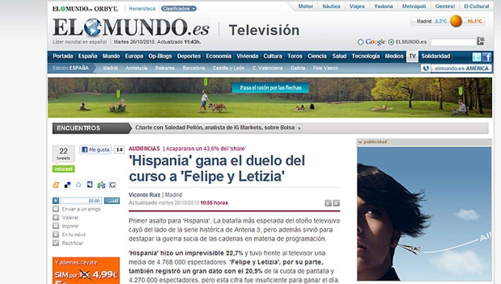 Hispania en elmundo.es