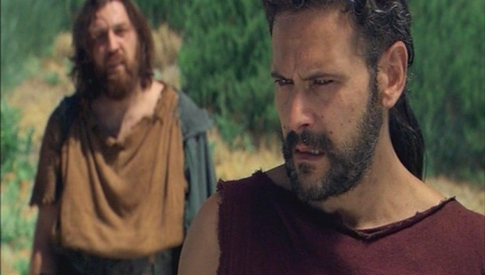La rabia de Viriato contra los romanos