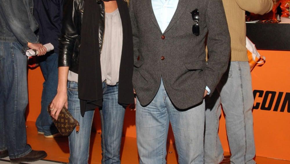 Rafi Camino y Natalia Álvarez