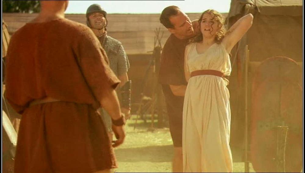 Tras desafiar a su pretor Nerea es regalada a los romanos