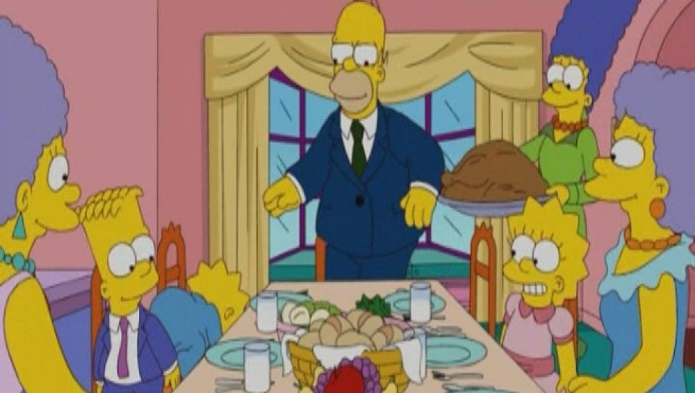 Especial Nochebuena Los Simpson