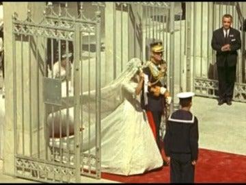 Imágenes de la Boda Real de Don Juan Carlos y Sofía