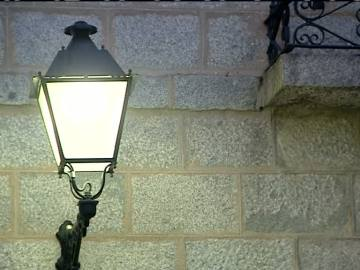 Alumbrado LED en Collado Mediano