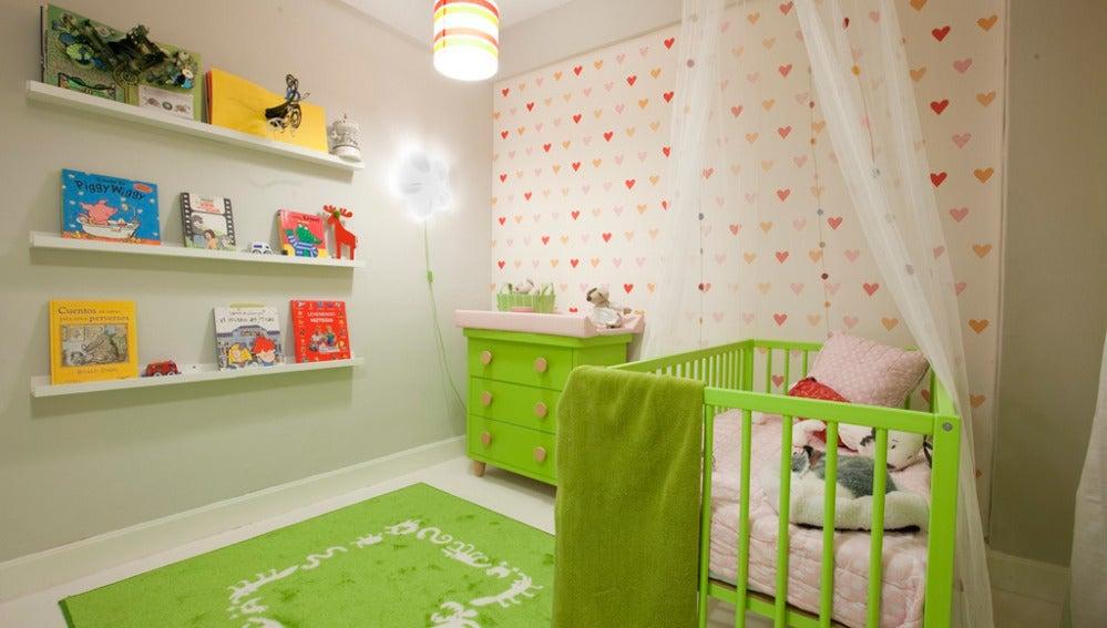 Habitación infantil confortable