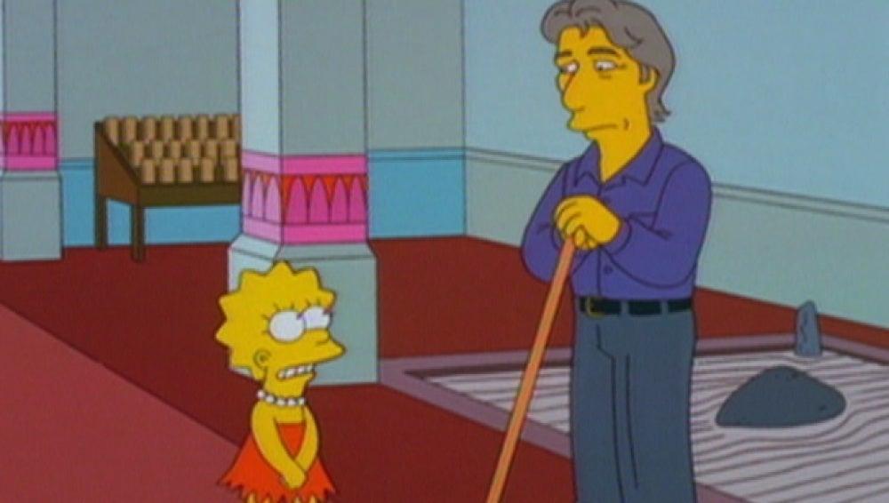 Richard Gere en Los Simpson