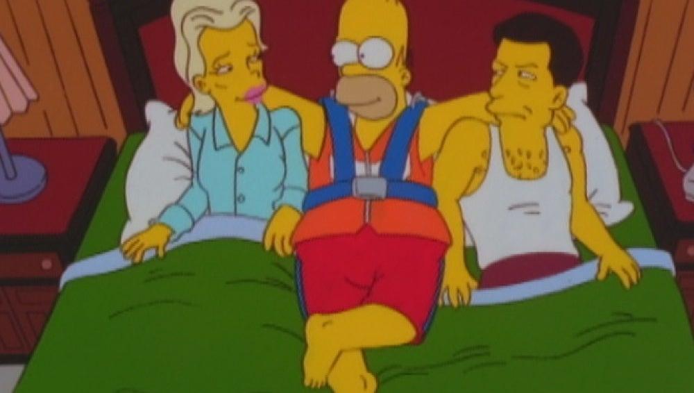 Kim Basinger en Los Simpson