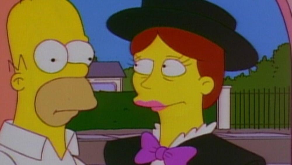 Mary Poppins en Los Simpson