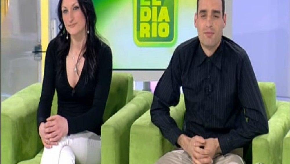 Daniel y Mari Carmen en El Diario