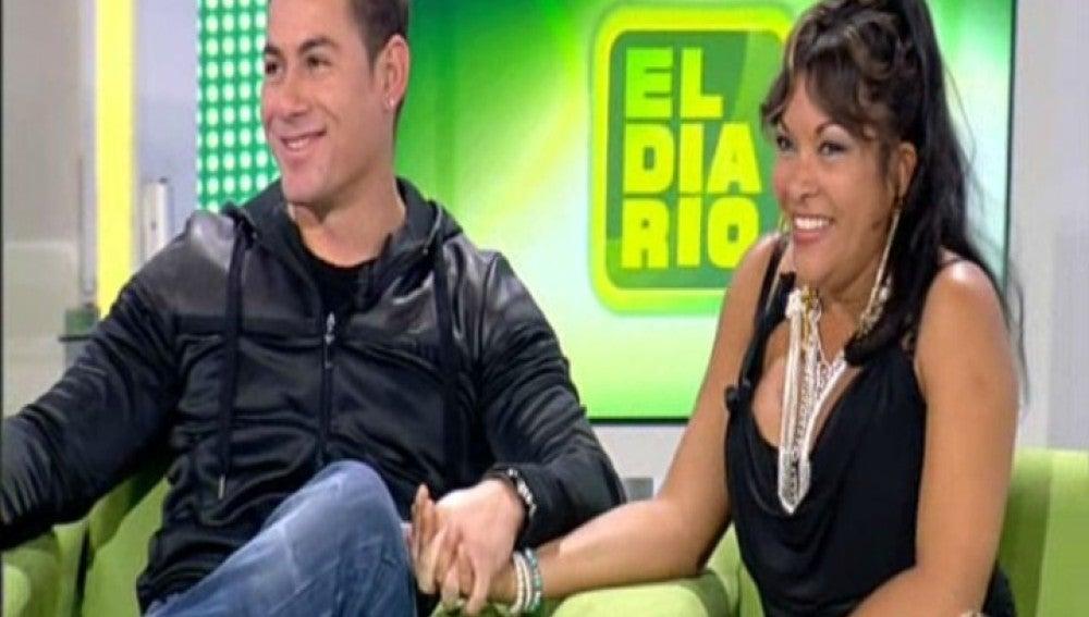 Magali y Víctor en El Diario