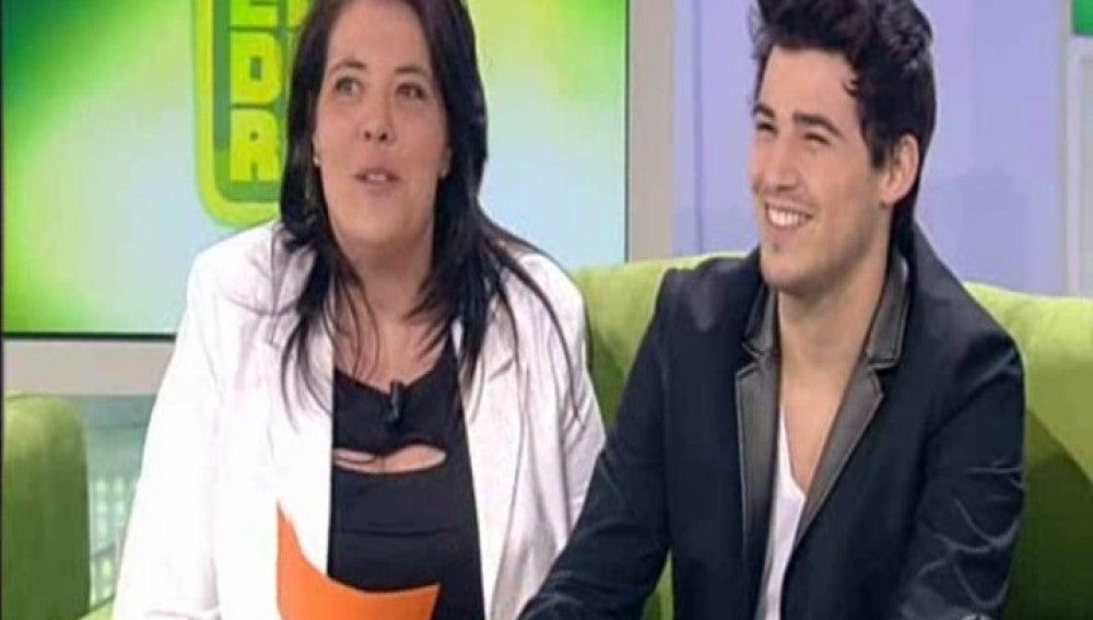 Ángel Capel y Yolanda en El Diario