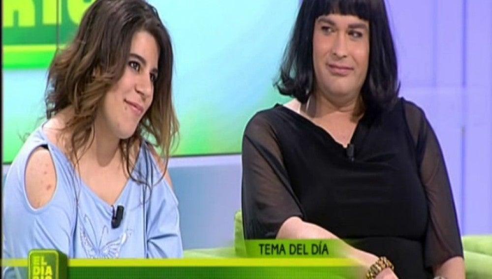 Marta y Vanesa en El Diario