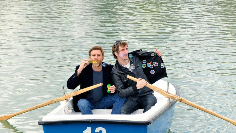 El capitán y Burbuja