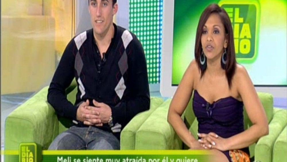 Meli y José Luis en El Diario