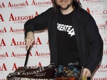 Santiago Segura celebra el éxito de 'Torrente 4'