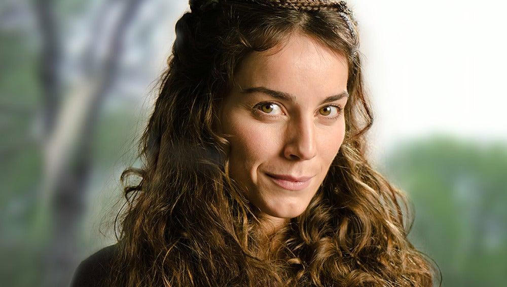 Irene Arcos es Navia en Hispania, la Leyenda