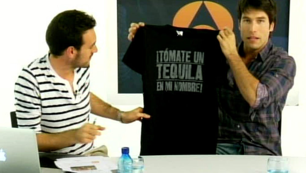 Rafael Amaya: Concurso Camiseta