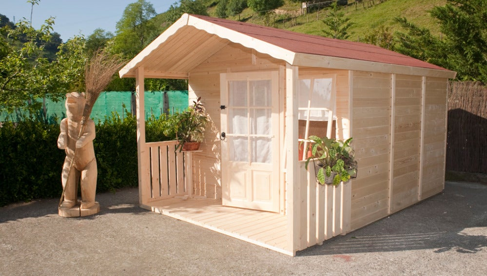 Construimos una caseta de madera