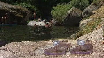 Una piscina natural