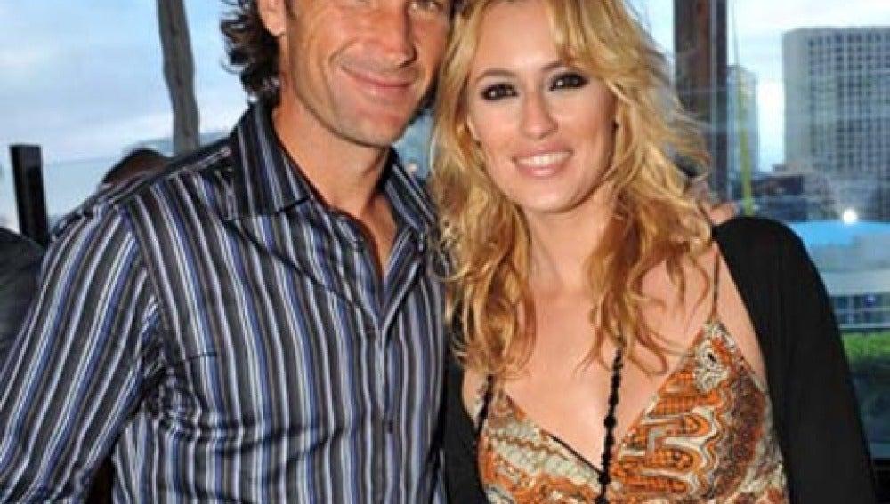 Carolina Cerezuela y Carlos Moyá