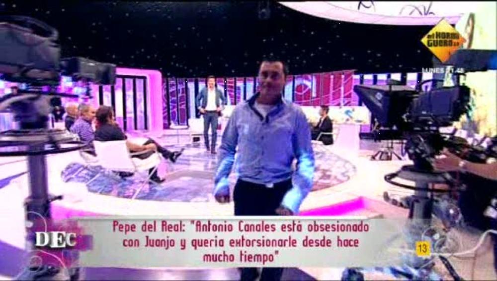 Jorge Fernández se va del plató