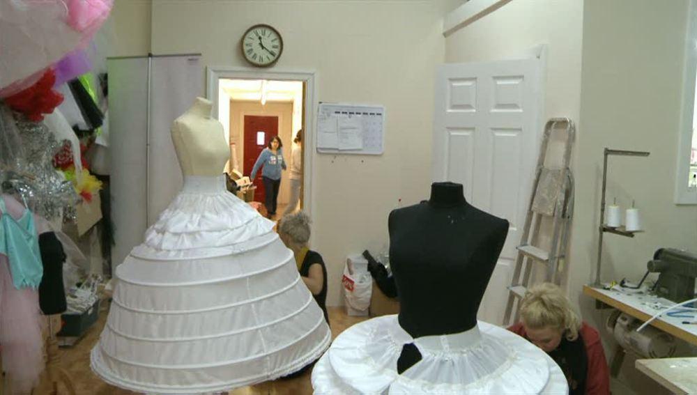 Diseñando el vestido