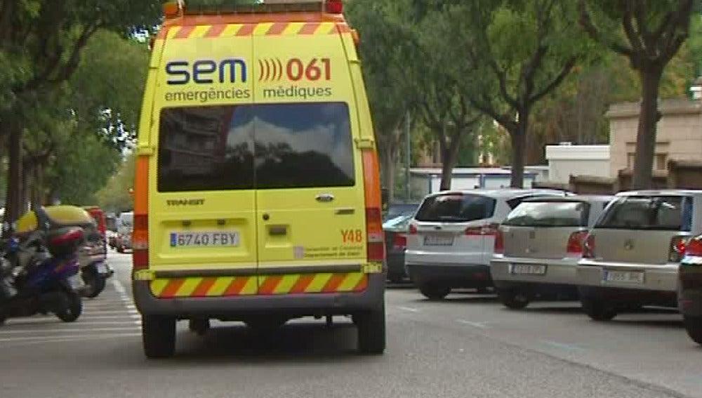 Muere un conductor de ambulancia drogado