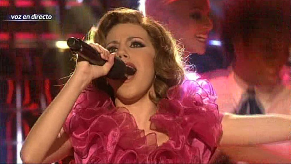 Gala 2 | Angy Fernández imita a Rocío Durcal