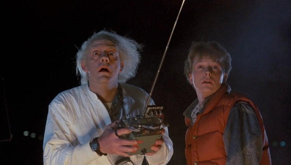 Michael J. Fox en 'Regreso al futuro'.