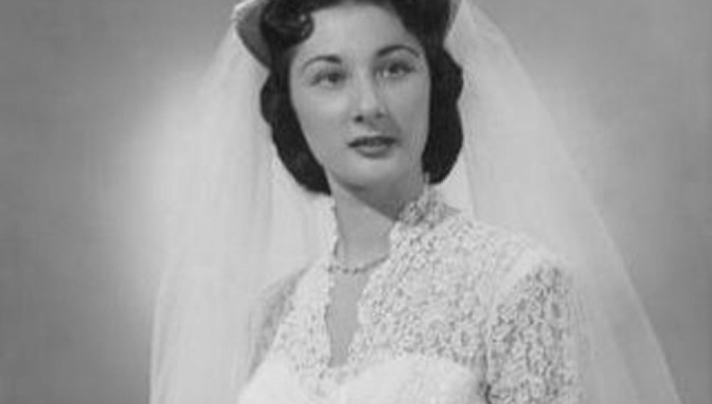 Vestido de novia 'vintage'