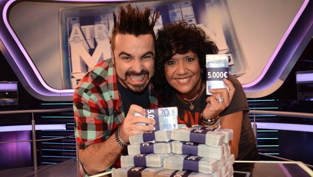 Rosana y Huecco en Atrapa un millón