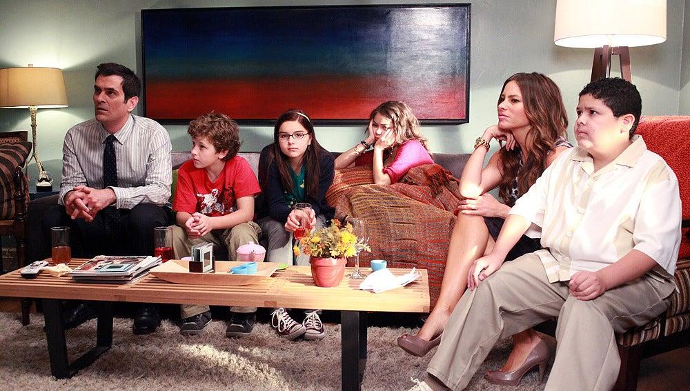 Phil, Luke, Alex, Haley, Gloria y Manny