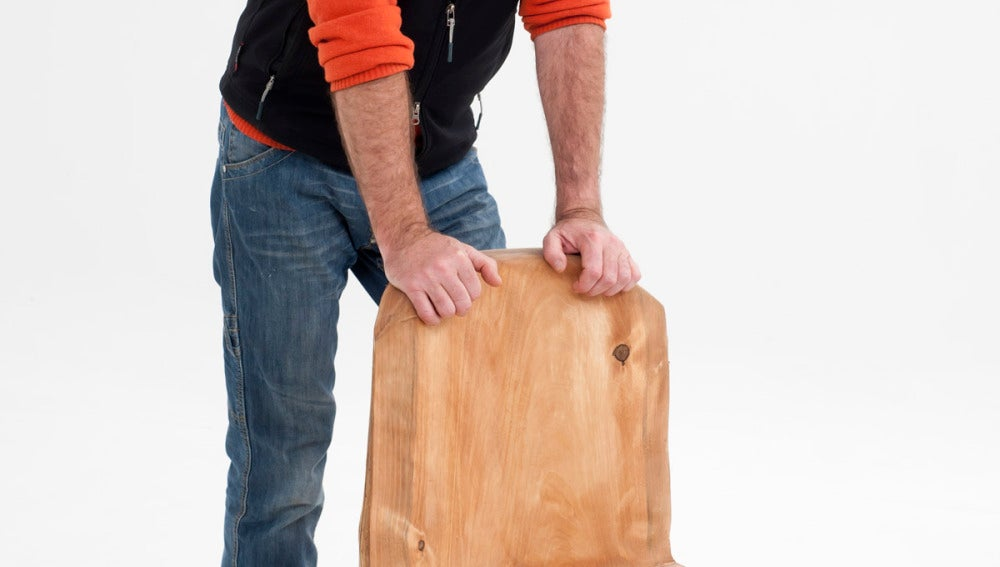 Kristian Pielhoff construye una silla