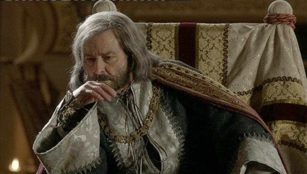 Alfonso X se siente decepcionado con la decisión de su hiijo Sancho