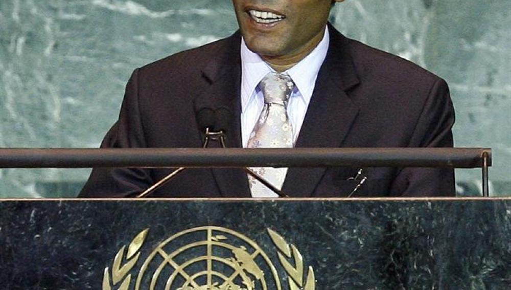 Mohamed Nasheed anuncia su dimisión