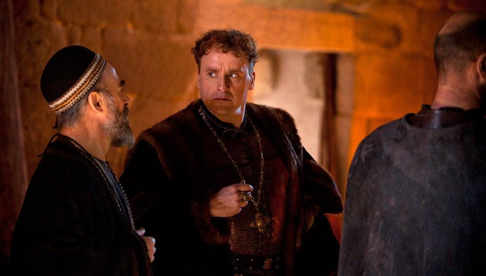 Abraham y el Conde de Miranda