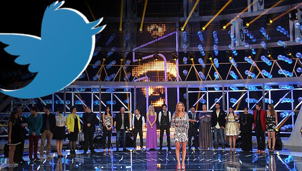 Los concursantes de El Número Uno se hacen twitter
