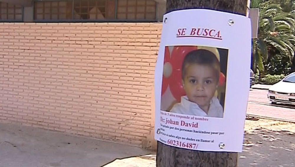 Niño desaparecido en Valencia