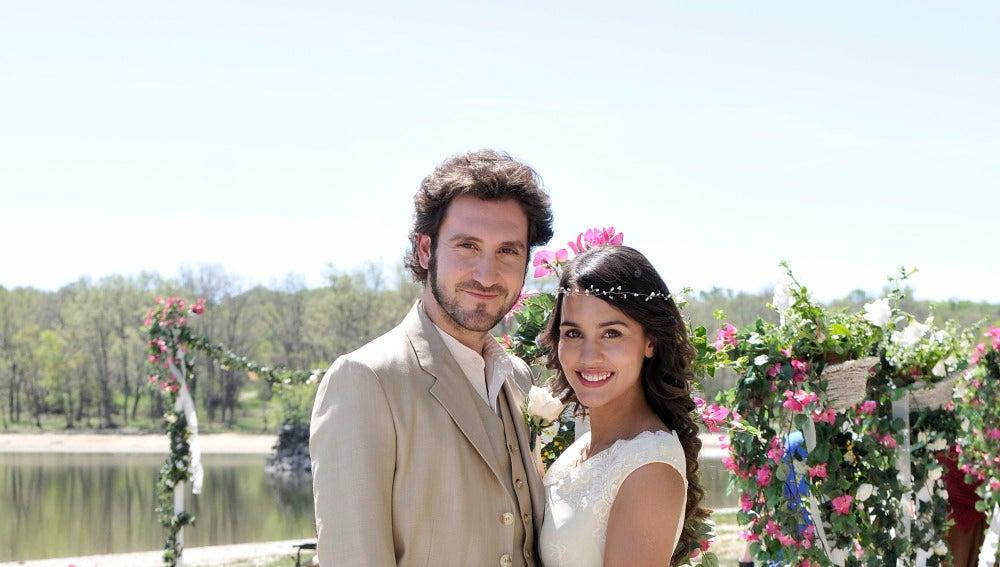 Alex Gadea y Megan Montaner son Tristán y Pepa