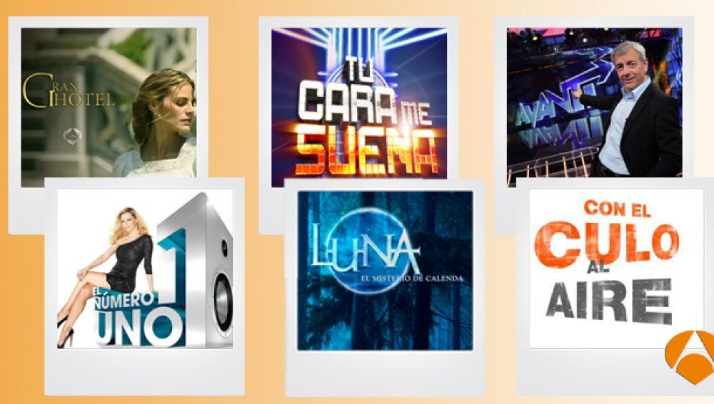 Temporada de éxitos en Antena 3