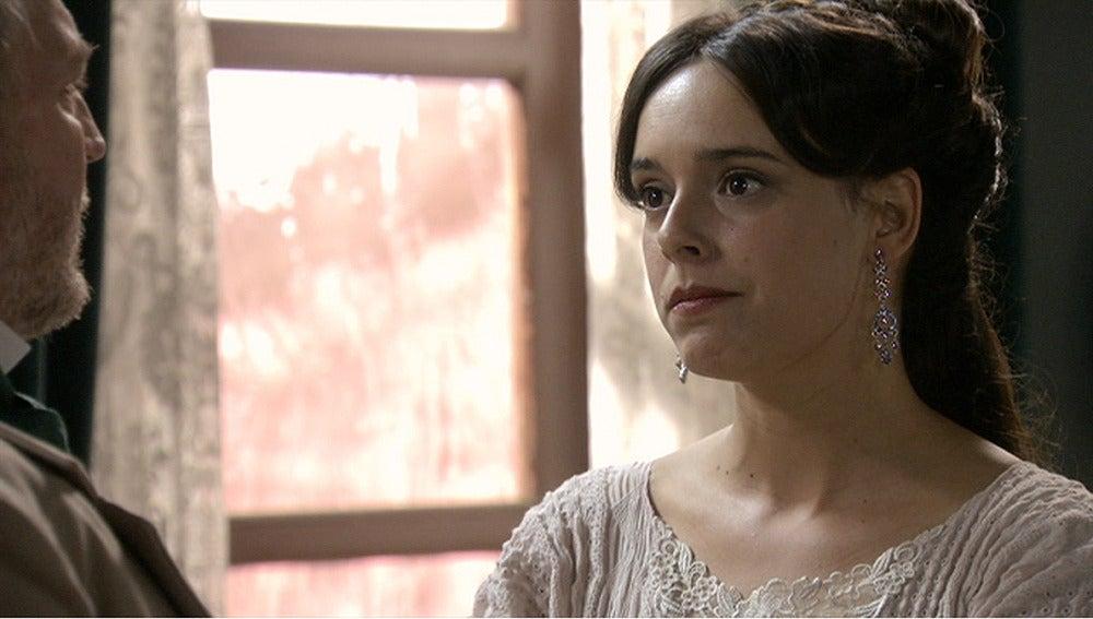 Elisa pide a Eusebio que confíe en su hijo