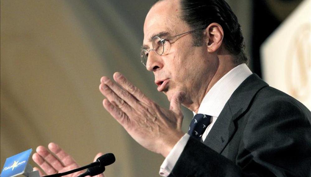 El presidente de Iberia y de IAG, Antonio Vázquez