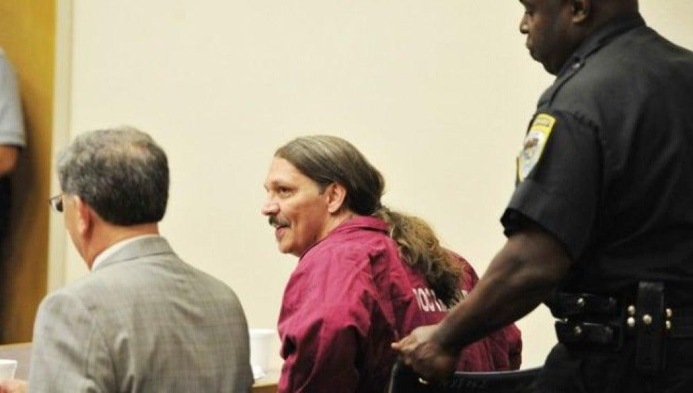 El preso Gary Haugen