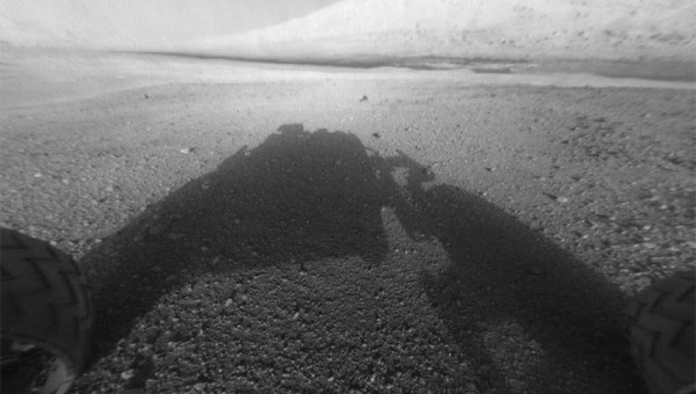 Marte visto desde el Curiosity