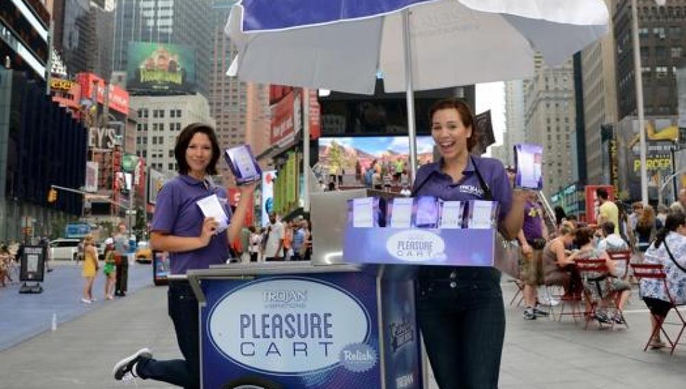 Los 'carritos del placer' han creado gran polémica en Nueva York