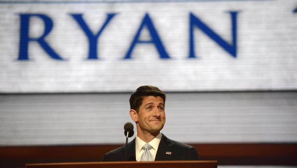 Ryan en la tercera jornada de la Convención Nacional Republicana