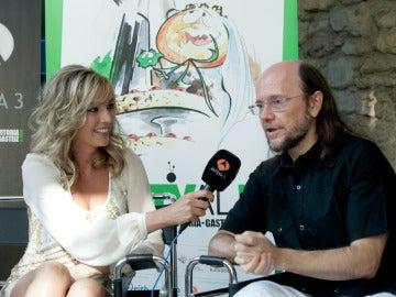 Anna Simon y Santiago Segura