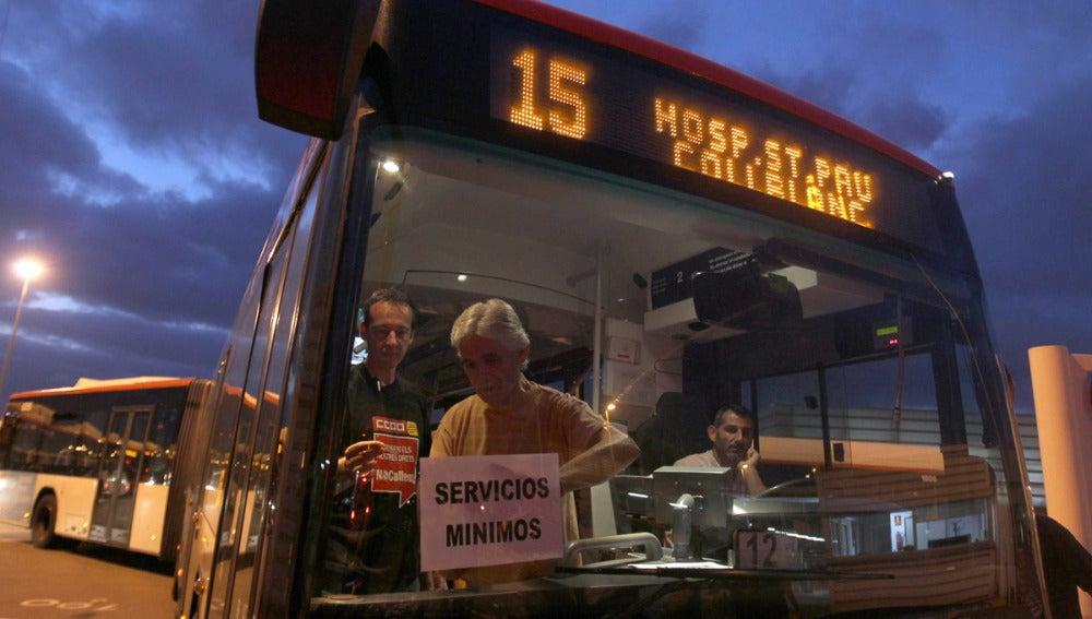 La rebelión del transporte público (17-09-2012)