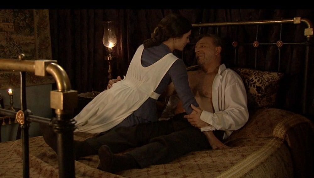 Sofía y Don Eusebio (Bandolera)