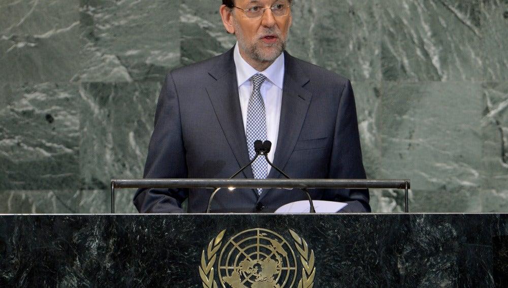 Rajoy en Nueva York