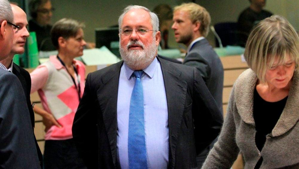 Arias Cañete, en el Consejo de Ministros de Agricultura de la UE